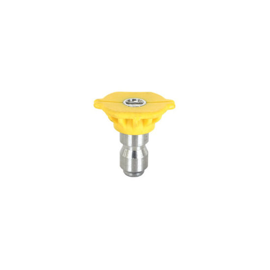 Picture of Quick Connect Spray Nozzle Size 4.5 15 deg. Yellow