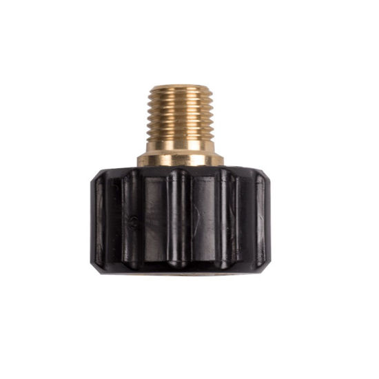 "Picture of Twist Coupler, M22 X 1/4"" mnpt"