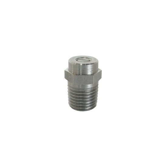 """Picture of Threaded Spray Nozzle Size 4.0 1/4"""" 40 degree"""