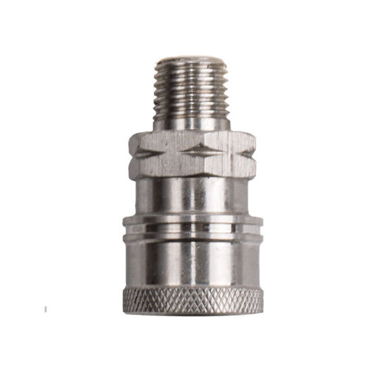 "Picture of 1/4"" Stainless Steel Coupler Quick Connect"
