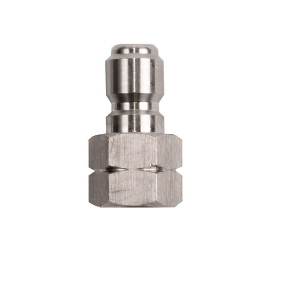 "Picture of Quick Connect Plug 3/8"" FNPT Stainless Steel"