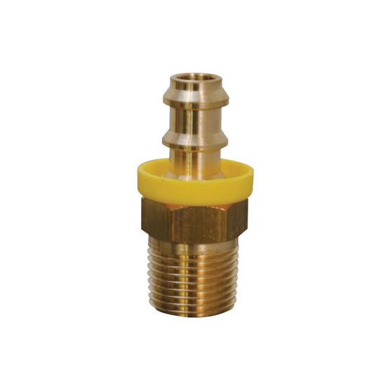 """Picture of 3/8"""" MNPT Hose Barb For Bypass Hose"""