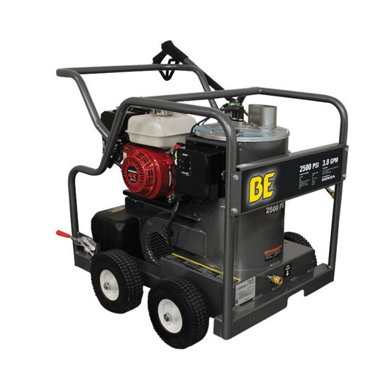 Picture of BE Hot Water Pressure Washer 2700psi 2.5gpm Honda GX200