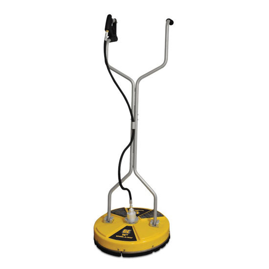 "Picture of BE 16"" Whirl-A-Way Pressure Washer Flat Surface Cleaner"