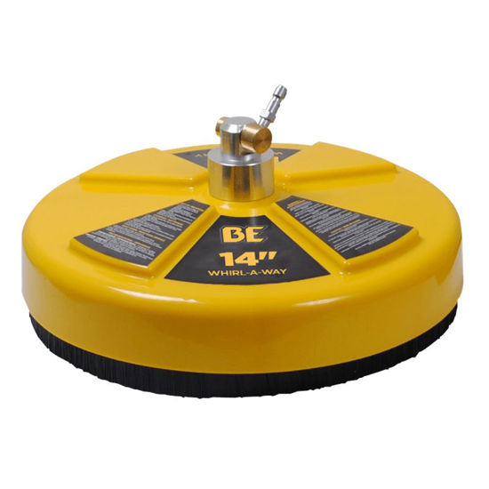 """Picture of BE 14"""" Whirl-A-Way Pressure Washer Flat Surface Cleaner"""