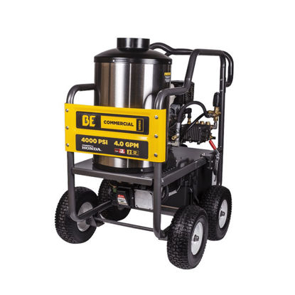 Picture of BE HW4013HG 4000 PSI Gas Hot Water Pressure Washer w/Honda GX