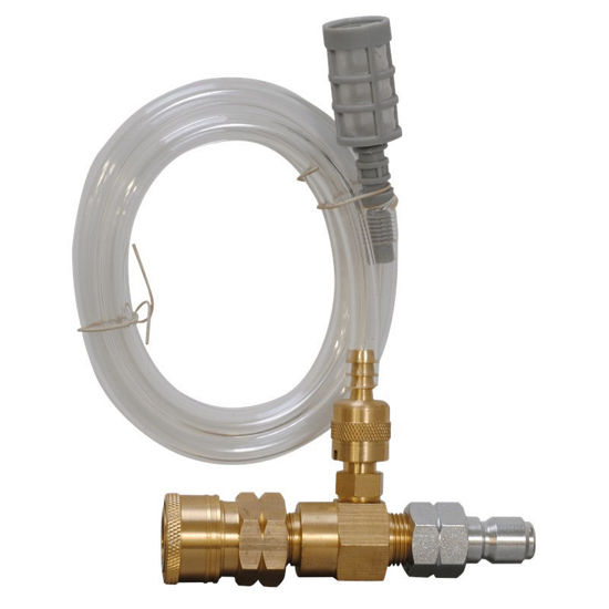 "Picture of BE 85.400.000 Low Pressure 3/8"" Chemical Injector, 4000 PSI, Hot/Cold Water"