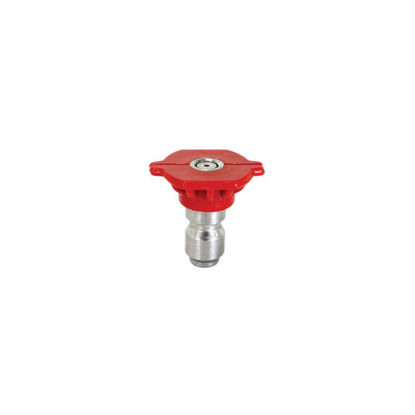 Picture of Quick Connect Spray Nozzle Size 3.0, 0 degree Red