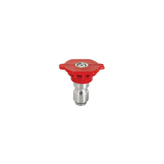 Picture of Quick Connect Spray Nozzle Size 4.0, 0 degree Red
