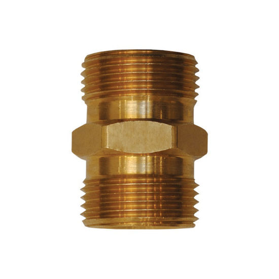 Picture of M22 X M22 Brass Male Connector