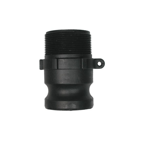 """Picture of 1 1/2"""" Polypropylene Camlock Type F"""