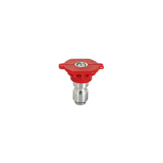 Picture of Quick Connect Spray Nozzle Size 6.5, 0 degree Red
