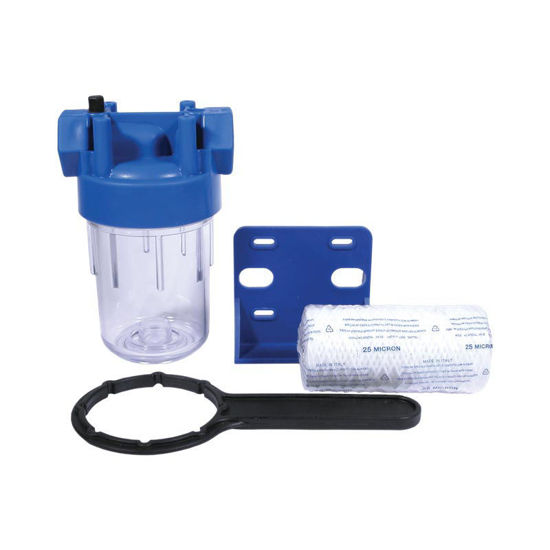 """Picture of High Volume Water Filter 1/2""""FNPT In/Out"""